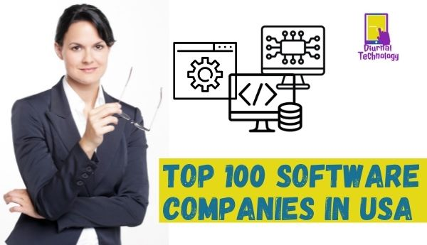 top 100 software companies in usa