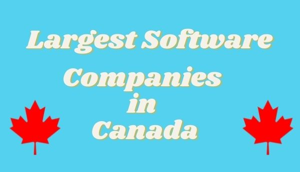 largest software companies in canada
