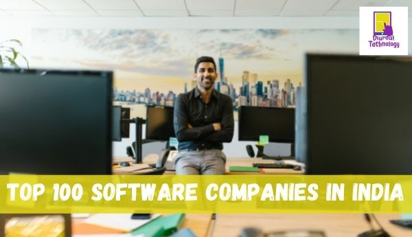 top 100 software companies in india